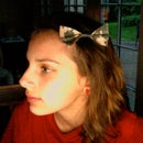 Duct-Tape Hair bow
