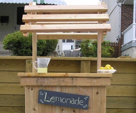 Build the perfect lemonade stand with your kids