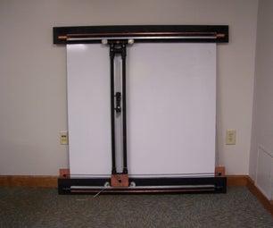 Mechanical Dry Erase Board