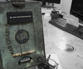 DIY Guitar: Metal Omar Cigarette Box Guitar