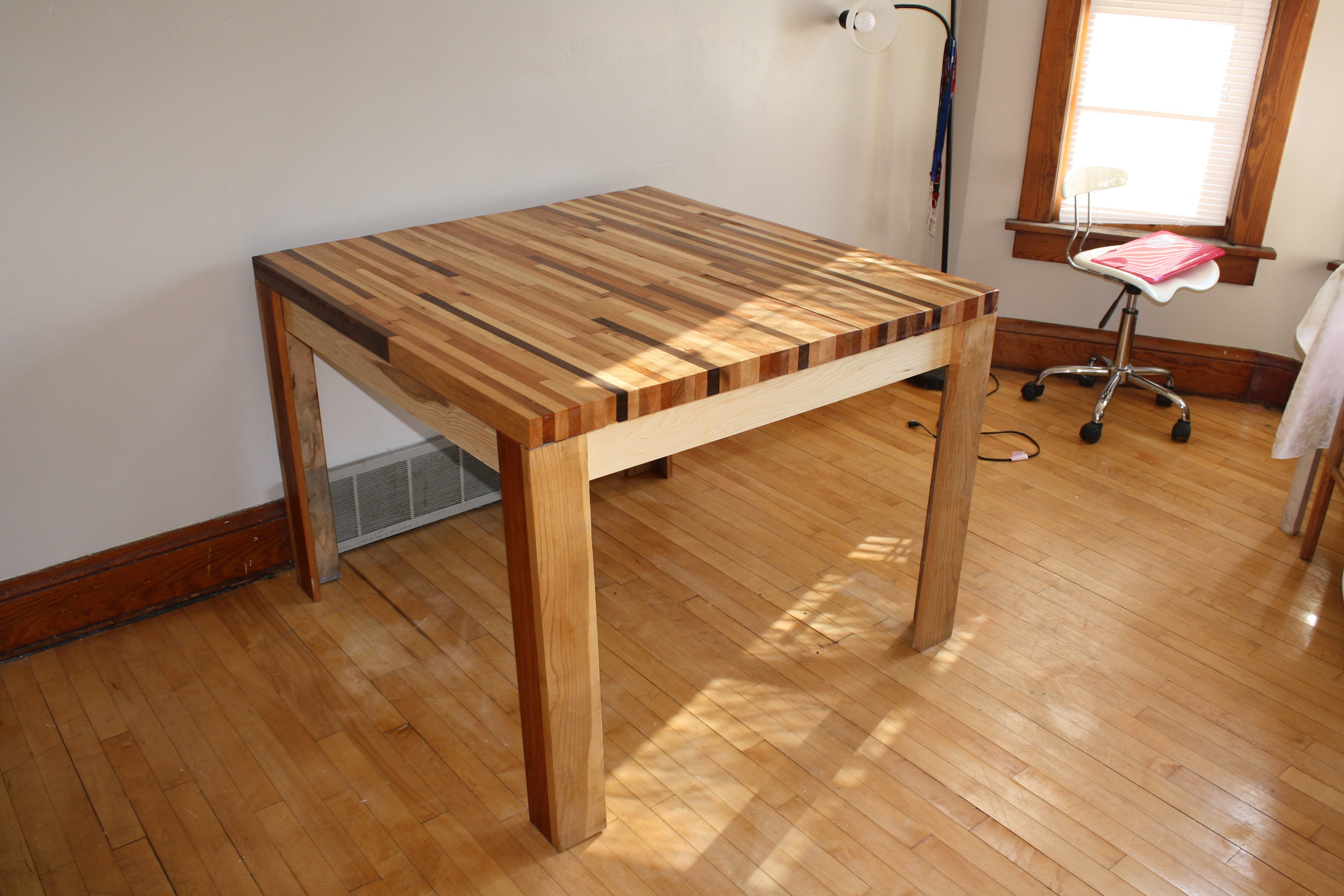 How To Make Kitchen Table How To Build A Kitchen Table