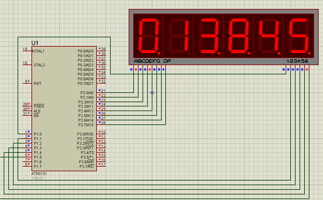 Picture of How to Make a Digital Clock Using 8051 With 7 Segment Display