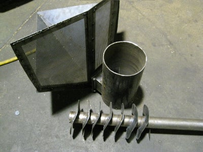 Solid Fuel Auger - Not Used in Current Design