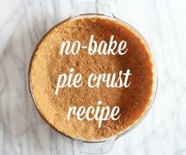 No-bake pie crust recipe