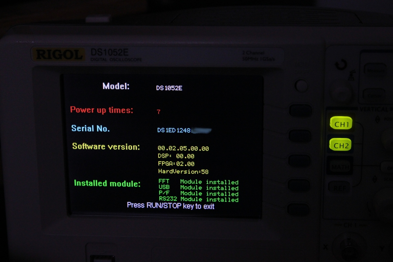 Picture of Find Your Firmware Version