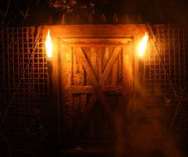 How to Build a Spooky Working Drawbridge with Sounds and Light