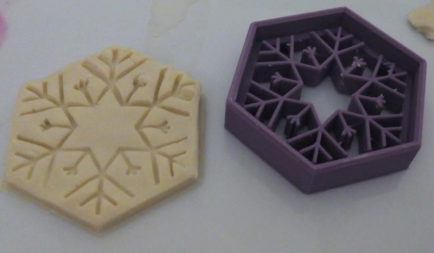 Picture of Cookie Mold - SnowFlake