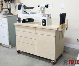 Mobile Tool Stand With Storage