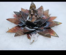 Metal Flower (Stainless Steel)