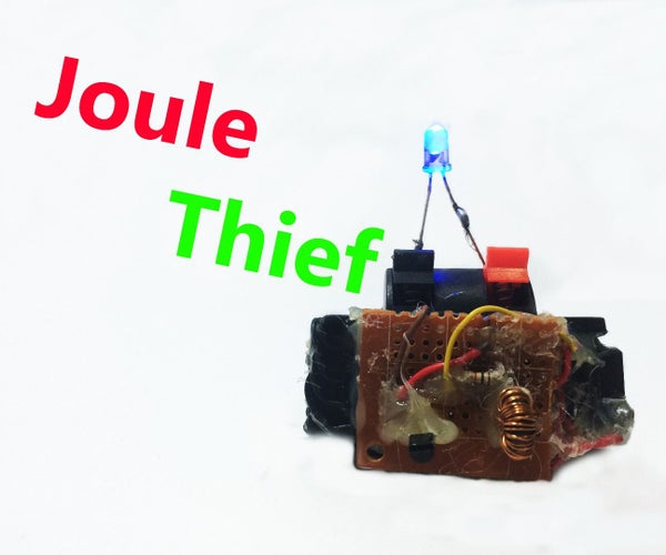 DIY How to Make Joule Thief With ( Diagram and Full Detail )