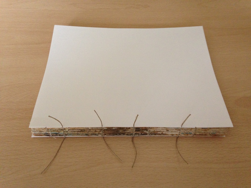 Picture of Sewing the Signatures