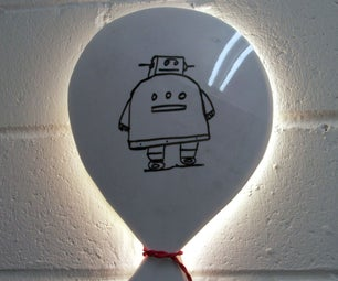Balloon Wall Light (& Noticeboard)