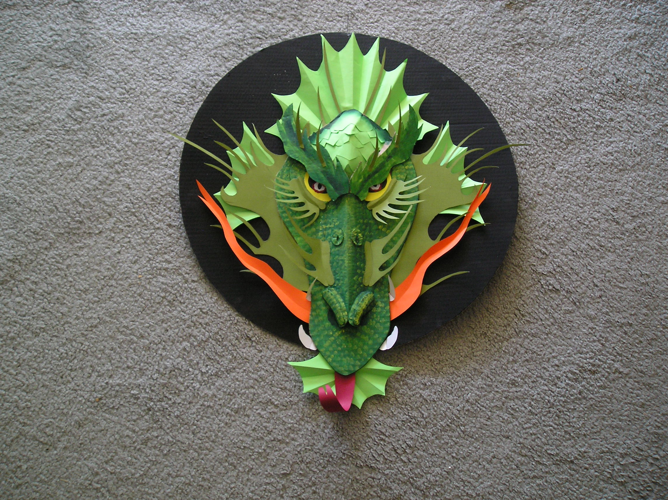 Picture of Make a Cardboard Dragon!