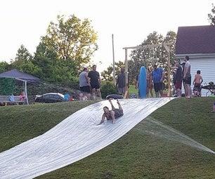 Summer Time Slip-n-Slide (DIY VERSION)