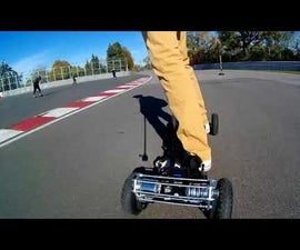 Electric Mountainboard DIY With 3D Printed Parts
