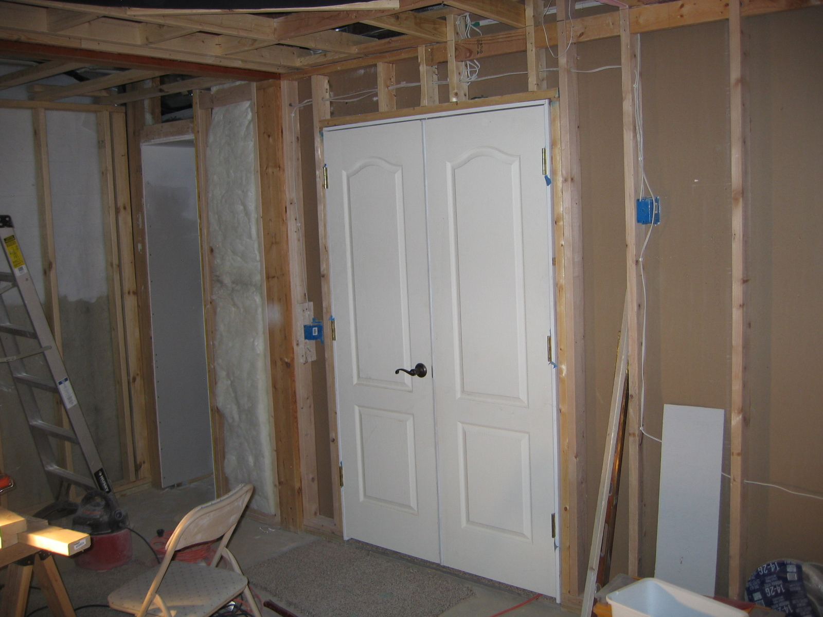 Picture of The Framing of the Theatre Room