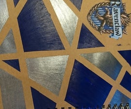 Notebook Modification - Ravenclaw Pride (Harry Potter Theme)