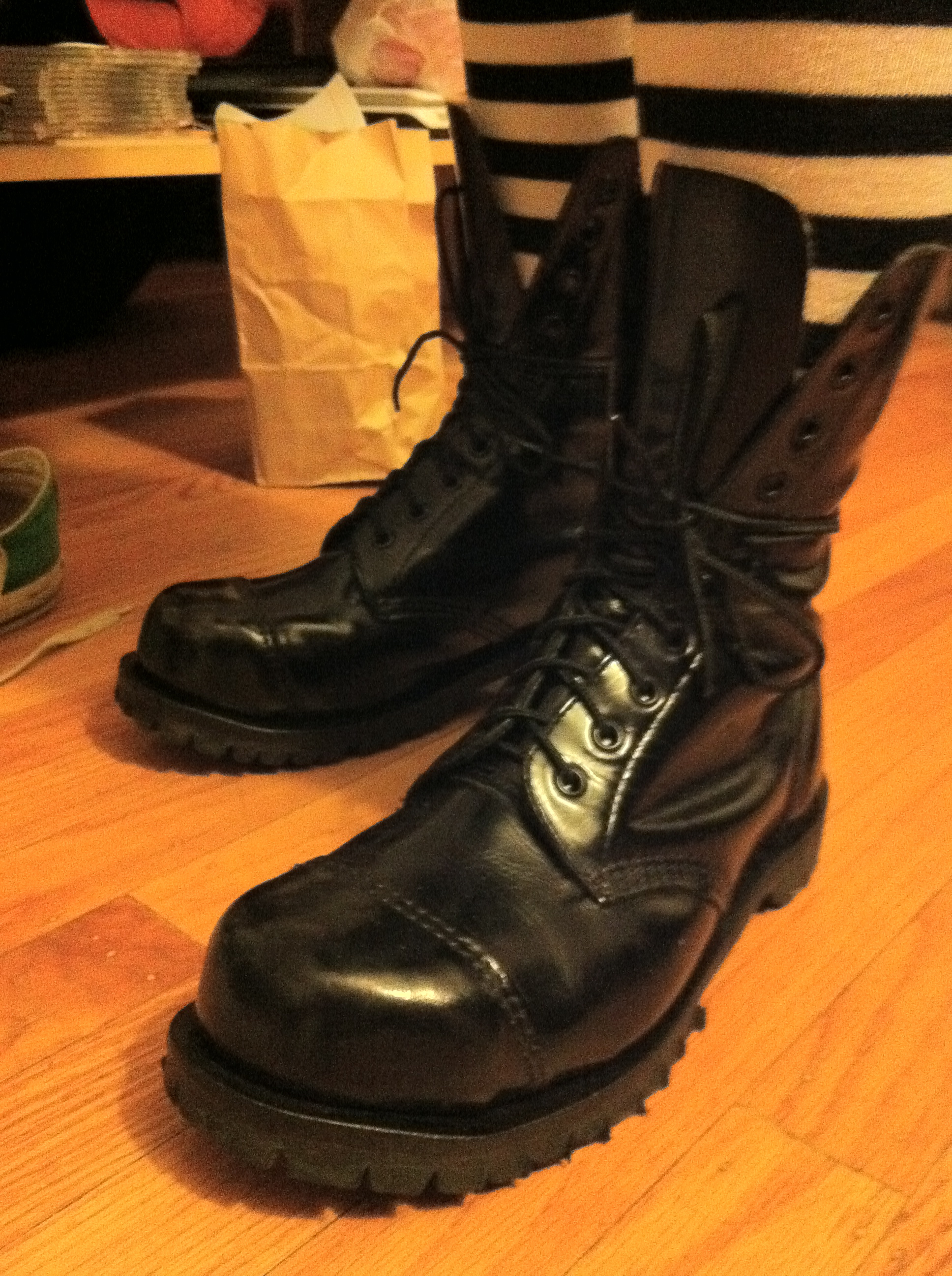 Picture of How I Dyed My Leather Boots
