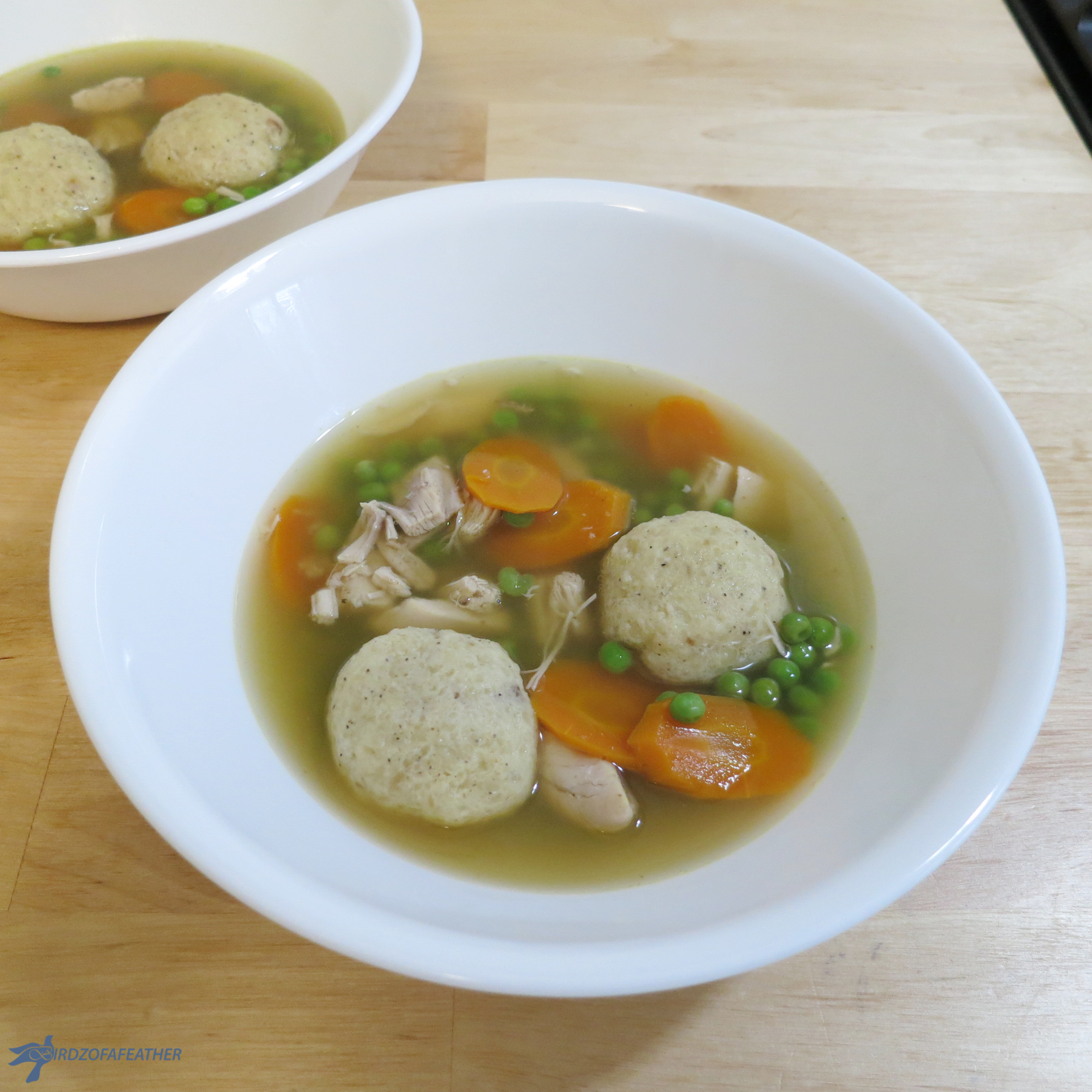 Picture of Matzo Ball Soup - Gluten Free!