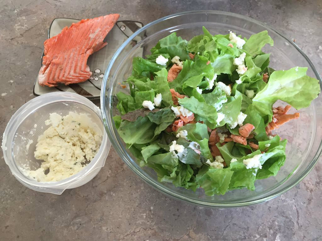 Picture of Fresh Fish Summer Salad