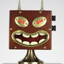 """""""Homunculus"""" Kinetic Robot sculpture from found materials"""