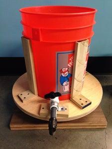 Water Spigot Installation