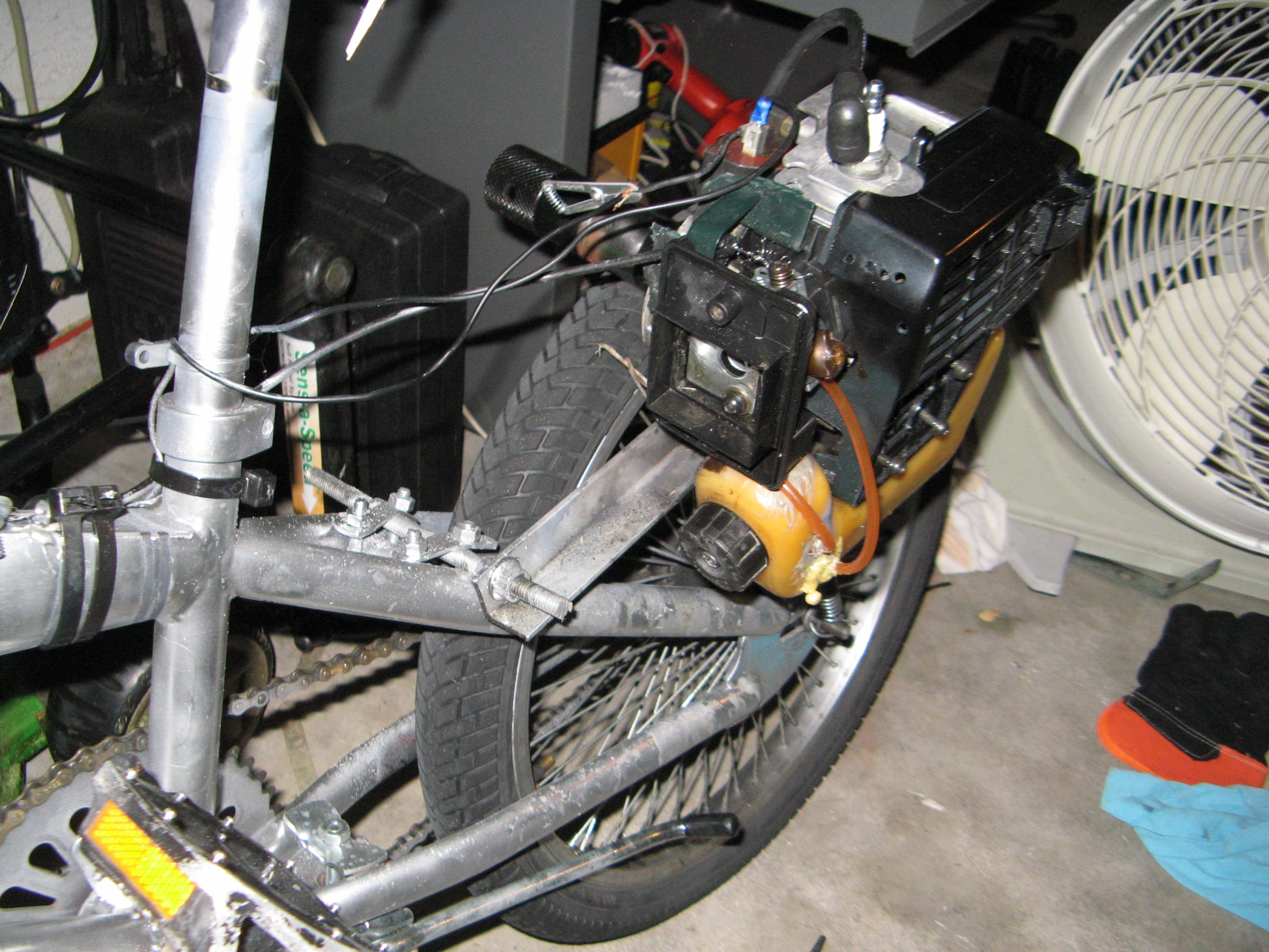 How To Make The Cheapest Motorbike Ever 6 Steps Instructables