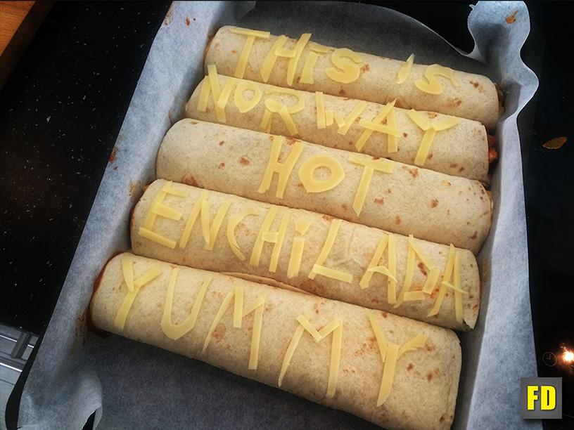 Picture of Customizing Each Enchilada