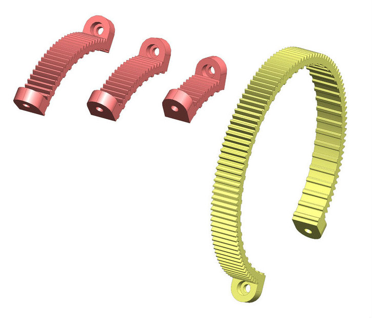 Picture of Option 2: Download Zocus Adjustable Rings CAD Files - Ready for 3D Printing