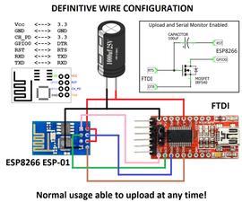 FTDI ESP8266 Definitive Wiring