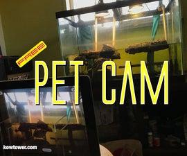 Free Security Camera, Pet Cam or Babysitter Camera