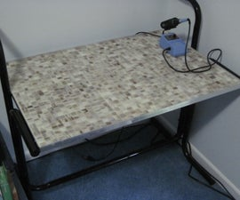 DREGS - Desk Refurbishment and Expansion: Glass/Silicone Surface