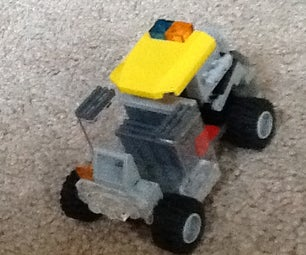 Lego Convertible Pick Up