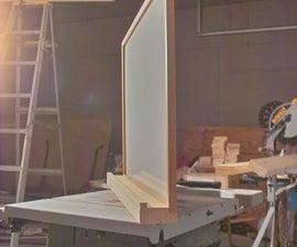 A Simple Ledge for a White Board from a Scrap of 2x4...  The PreRamble
