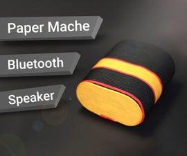 Paper Mache Bluetooth Speaker