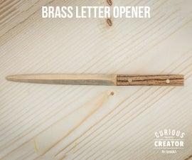 Brass Letter Opener