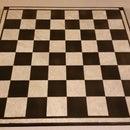 Make a $5 tile chess board Christmas present