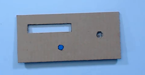 Picture of Make Mounting Location of Digital Push Button, Numerating Tube and Rotary Encoder