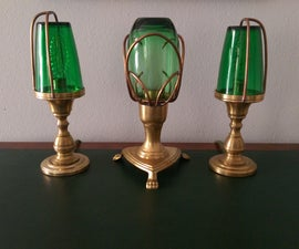 Neovictorian Lamps