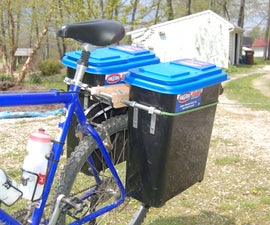 Waterproof Bicycle Pannier Boxes