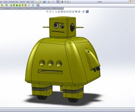 3D Modeling the Instructables Robot