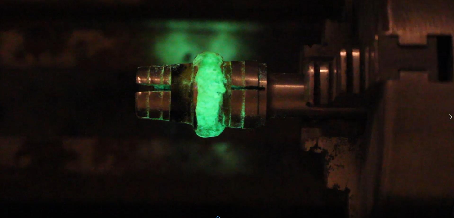 Picture of Adding the Strontium Aluminate