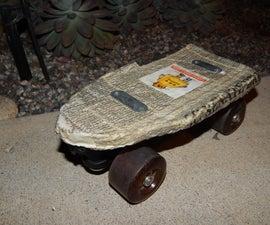 The Paper Skateboard