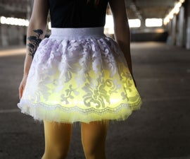 Day to Night-Light Skirt