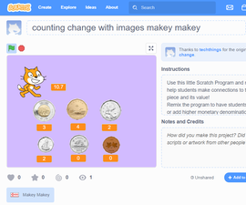 Counting Change With Makey Makey