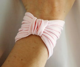 How to Sew a Bow Bracelet