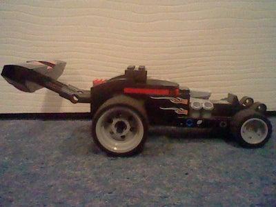 Lego Motorised Car. FR Drivetrain.