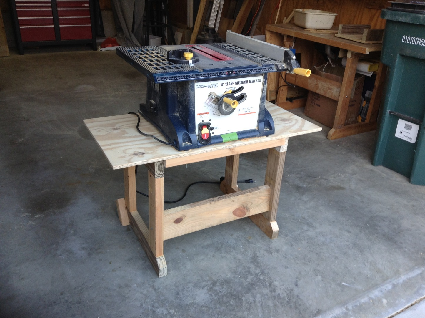 Picture of Add the Table Saw
