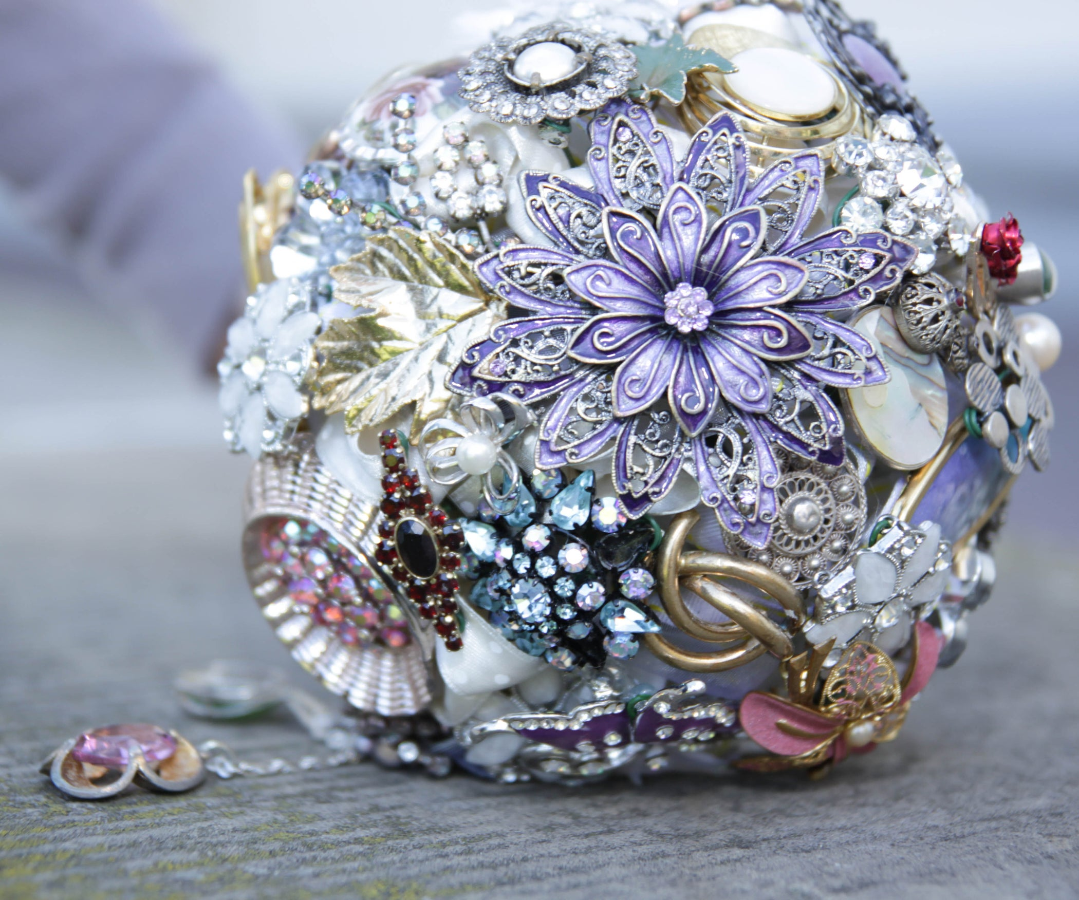 Wedding Brooch Bouquet 7 Steps With Pictures
