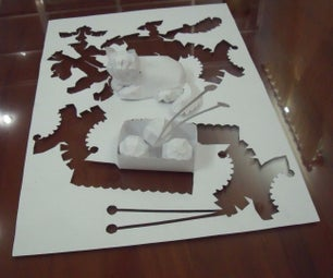 How to Create Your Own One-piece Paper Art